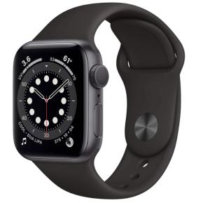 Apple Watch Series 6 running watch
