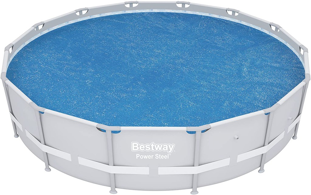 Bestway 14ft Round Above Ground Swimming Pool Solar Heat Cover