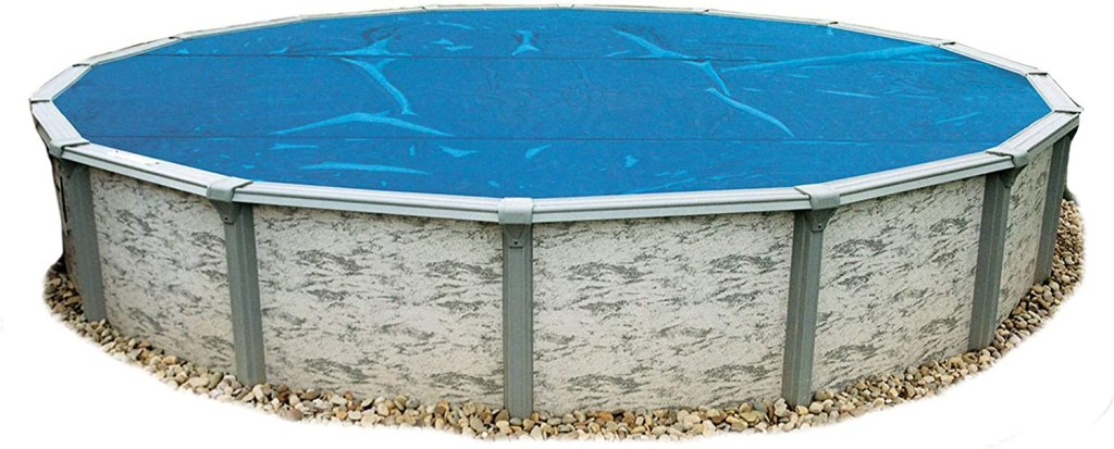 Blue Wave Solar Blanket for Round Above-Ground Pools in Blue