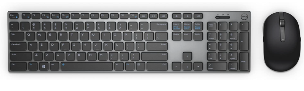 Dell KM717 wireless keyboard and mouse