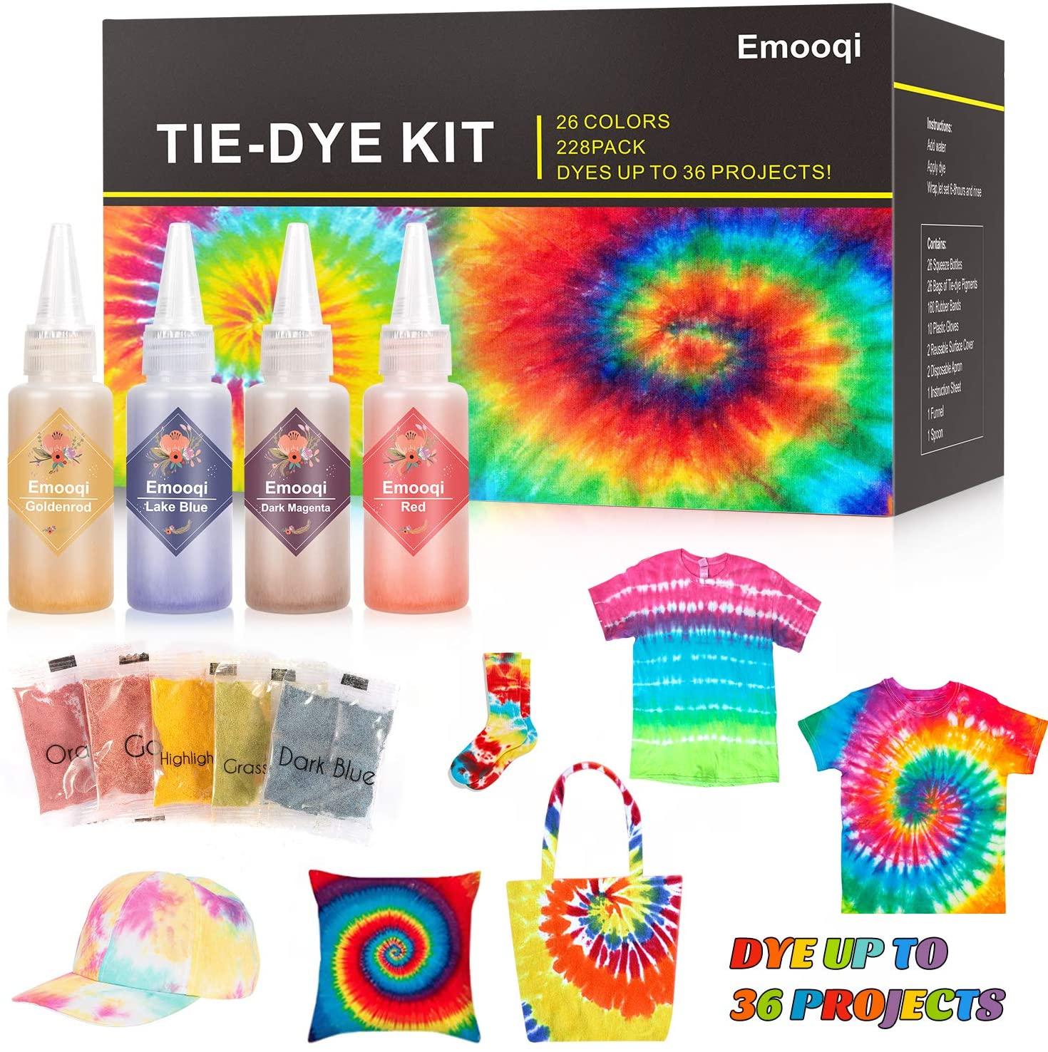 gifts for wife - Emoquii DIY Tie Dye Kit