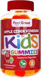 Feel Great Vitamin Co. Apple Cider Vinegar Gummies for Kids