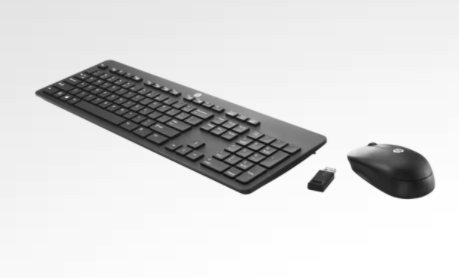 HP Slim Wireless Keyboard and Mouse combo