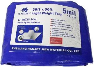 hanjet waterproof outdoor tarps