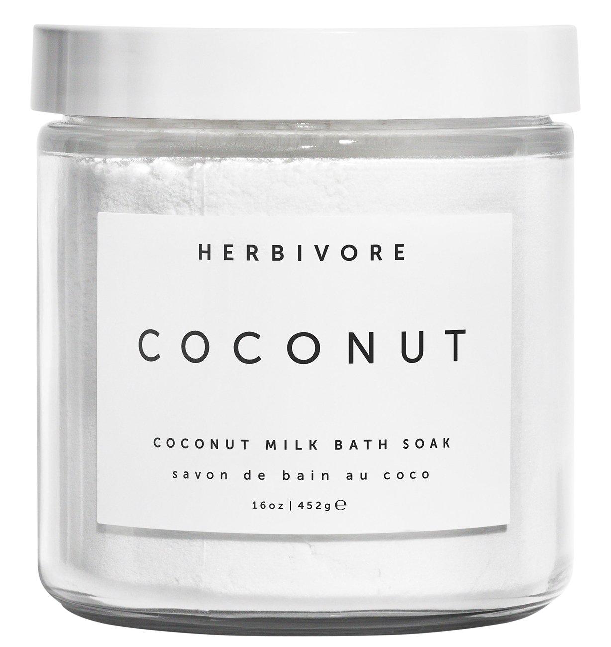 best christmas gifts for wife - Herbivore Botanicals All Natural Coconut Milk Bath Soak