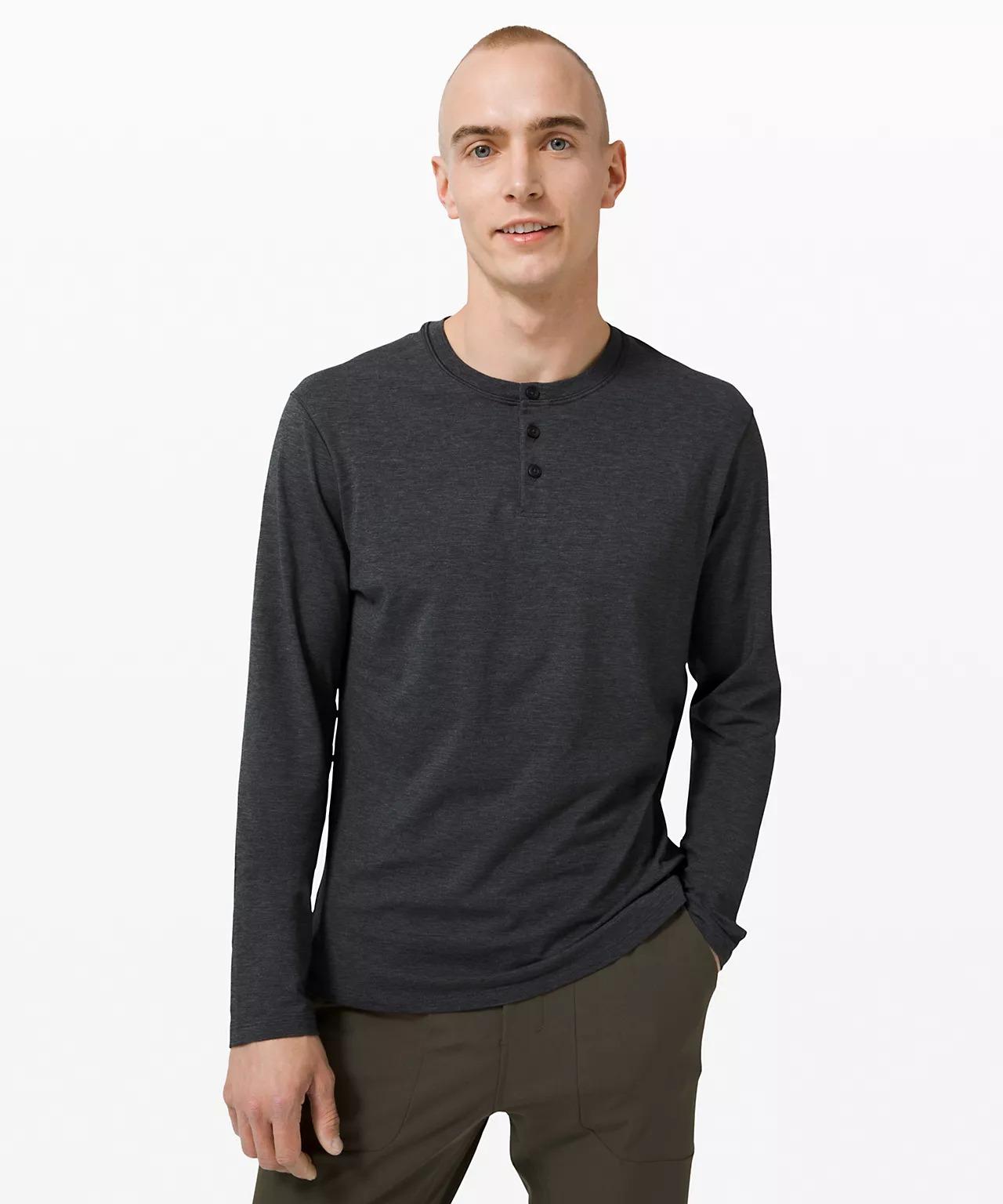 5-Year Basic Long Sleeve Henley