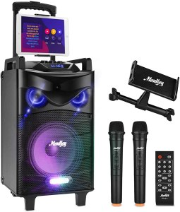 best karaoke machines moukey