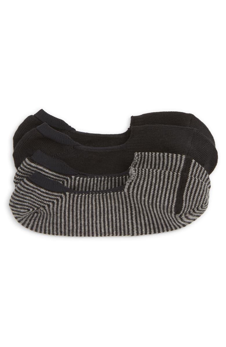 Two pack of Nordstrom Loafer Liner No-Show Socks