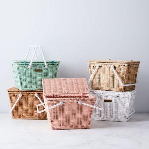 best picnic basket olli ella mini rattan