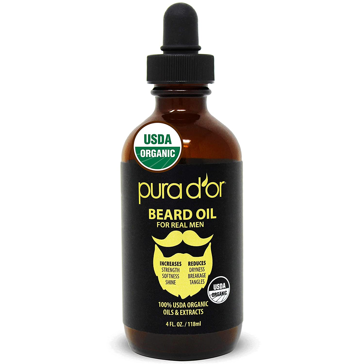 Pura d'Or beard oil - BEST beard oil OVERALL