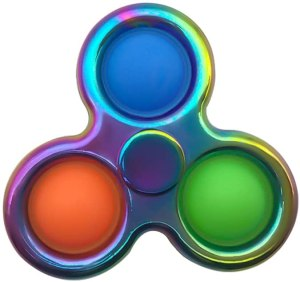 cool fidget spinners pure compression