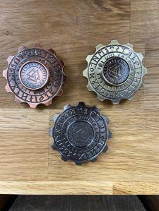 sagaiceland fidget spinner metal