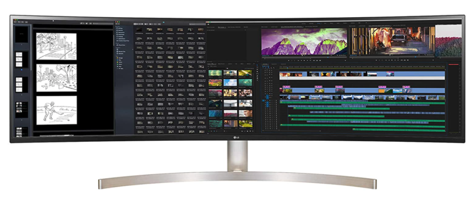 LG 49WL85C-B Curved monitor