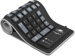 silicone waterproof keyboard, gifts for germaphobes