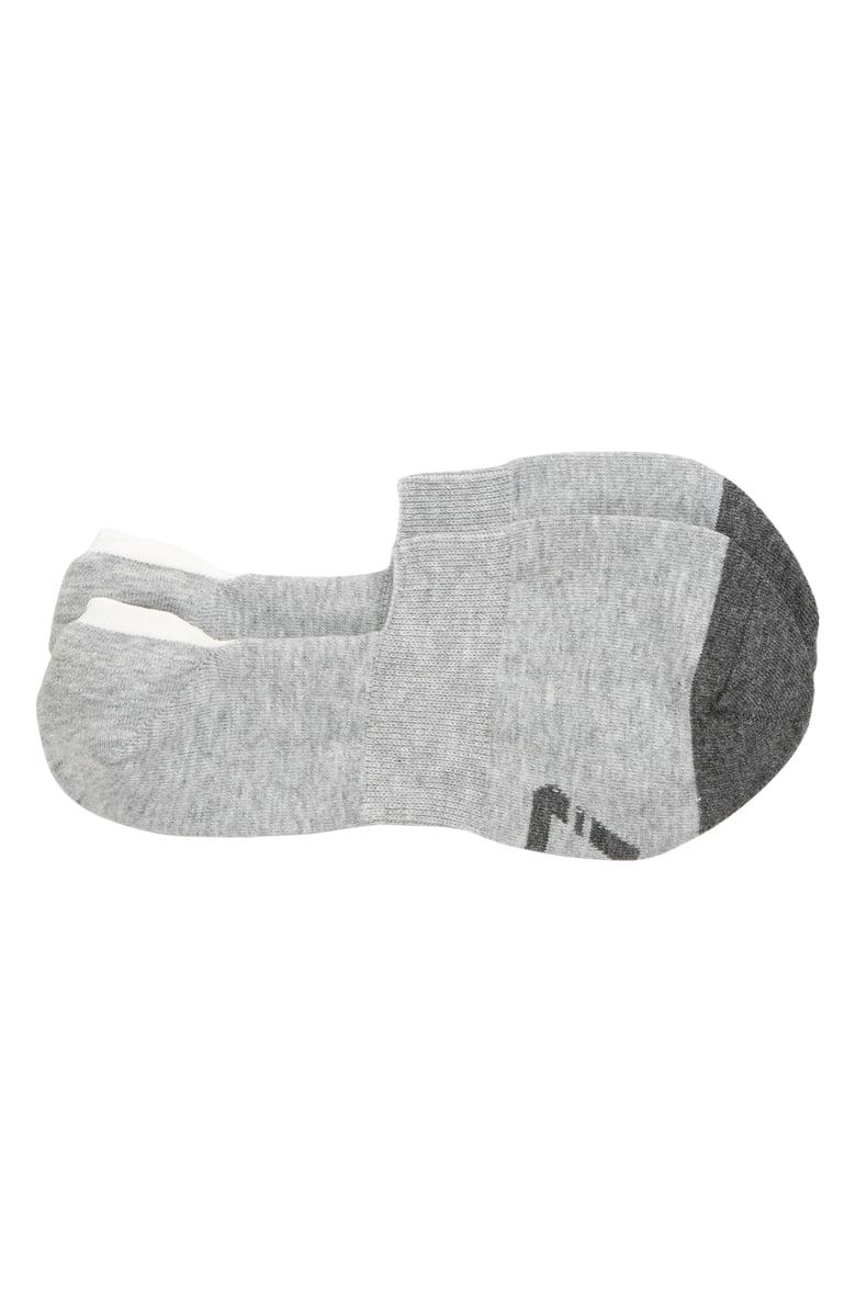 Single pair of TravisMathew Magic Man No-Show Socks in grey