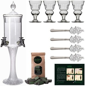 absinthe fountain set, how to drink absinthe