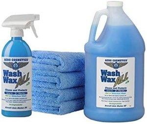 best car wash soap aero cosmetics wet or waterless wax kit