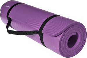 AmazonBasics 1/2-Inch Extra Thick Exercise Yoga Mat