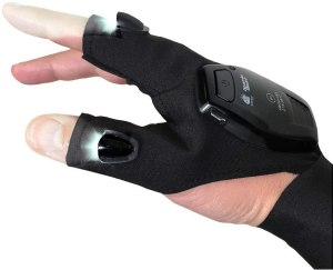 Atomic Beam Glove with Rechargeable Battery