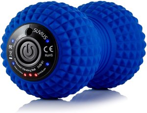 best roller electric back massager, SUVIUS Peanut Electric Vibrating Foam Roller