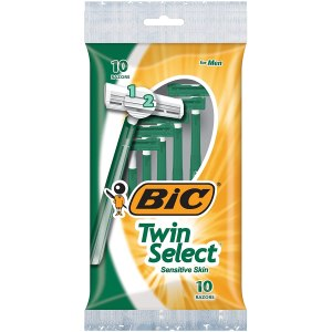 BIC Twin Select Men's Disposable Razors