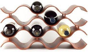 last minute gifts - Birando Wave Wine Rack