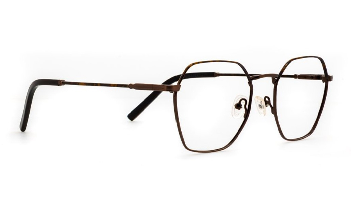buy cheap glasses online - liingo hexagonal frames