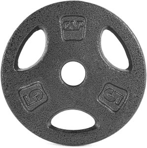 CAP barbell standard grip plate