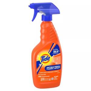 Tide fabric refreshing spray, laundry sanitizers
