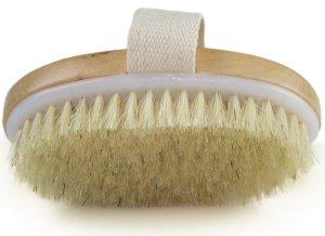 Dry Skin Body Brush - how to get rid of razor burn and razor bumps