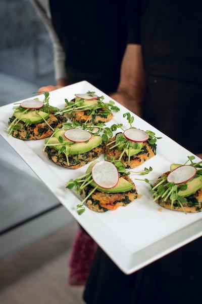 Chef Oren's Vegan Quinoa Cakes