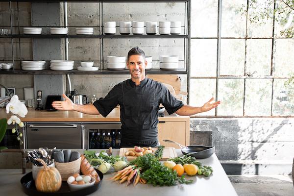 Chef Oren Zroya in His Venice Beach Test Kitchen