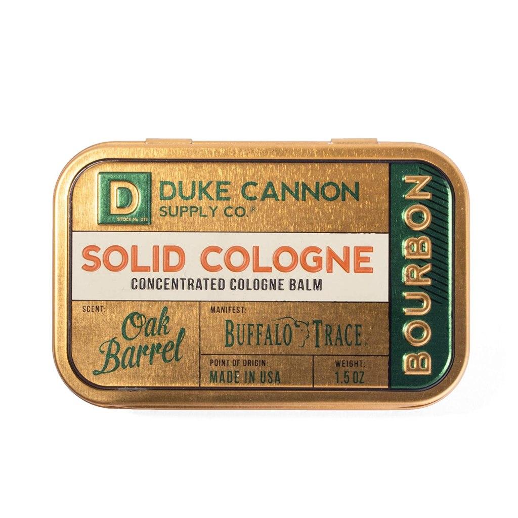 Duke Cannon men's solid cologne in bourbon trail