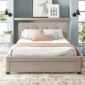 best storage beds eben upholstered