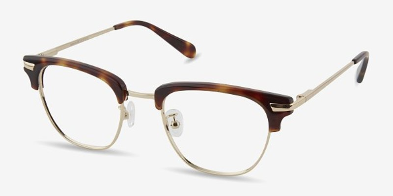 eye buy direct identity frames in brown tortoise
