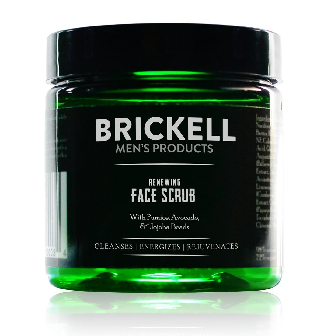 face cleaning scrub