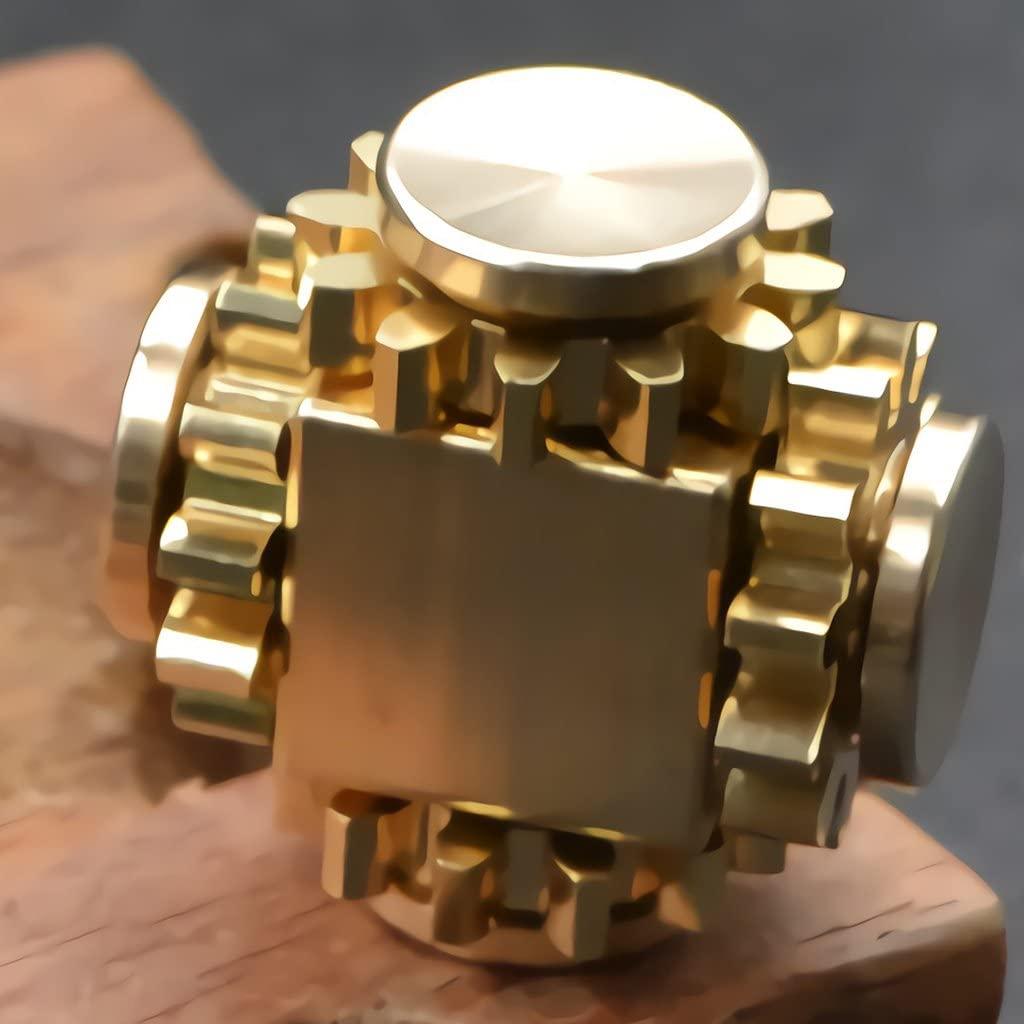 pure brass fidget spinner