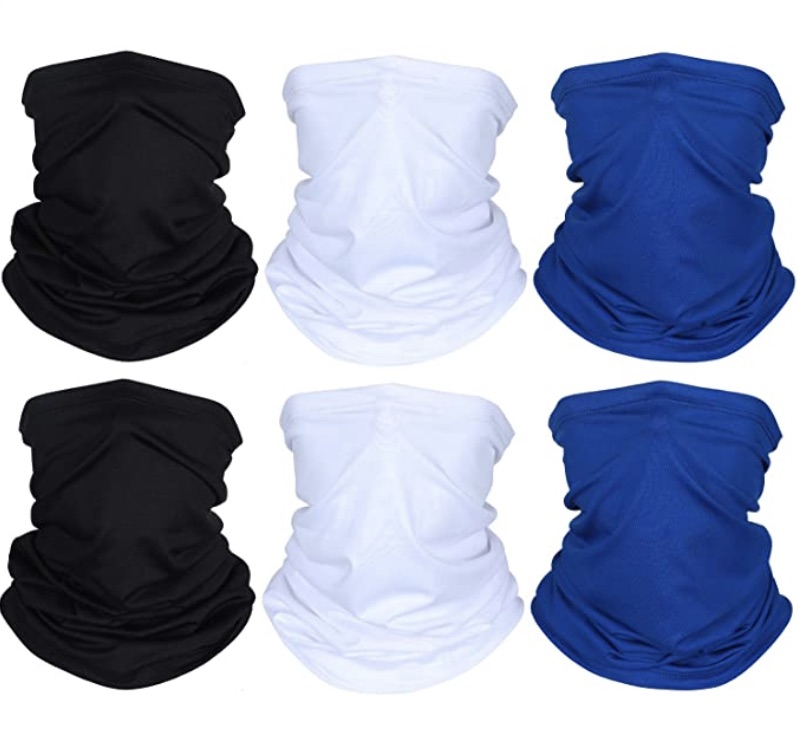 Geyoga Face Mask Covering 6 Pieces