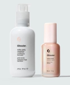 Glossier Jelly Cleanser + Futuredew