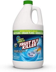 how to get rid of fruit flies green gobbler googbye