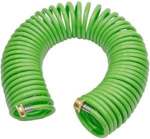 best garden hose green mount coil