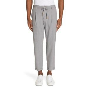 Eleventy Stretch Wool Jogger Dress Pants