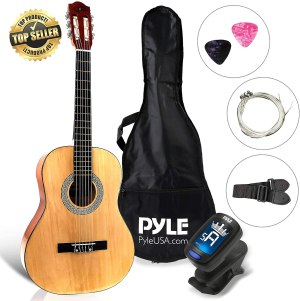 best guitars for beginners pyle