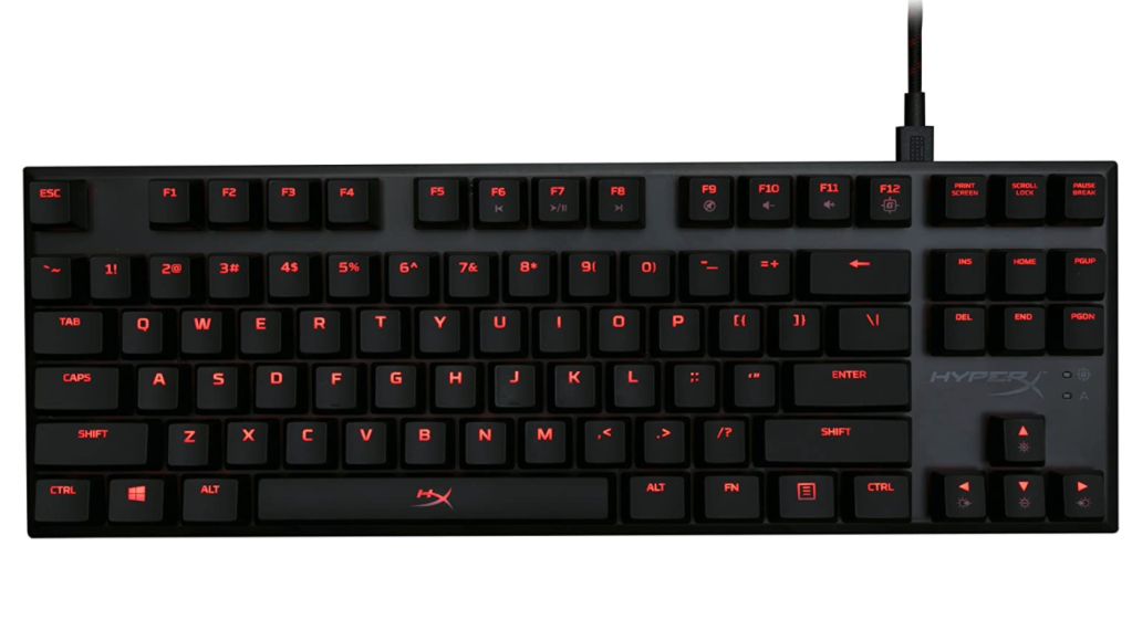 gaming keyboard hyperX alloy