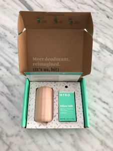 Myro Deodorant Delivery Box