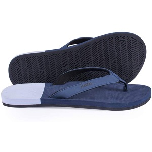 Indosole Men's ESSNTLS Vegan Flip Flop Sandals