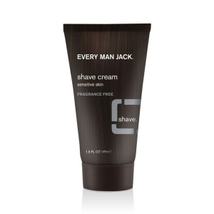 Every Man Jack Fragrance-Free Shaving Cream