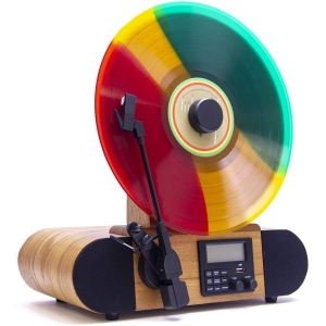 Fuse Vert Vertical Vinyl Record Player