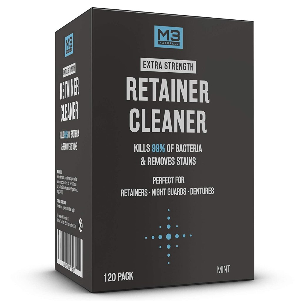 M3 Naturals Retainer and Denture Cleaning Tablets