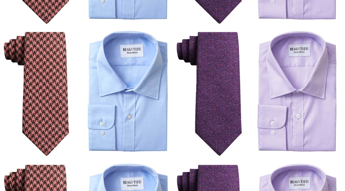 Purple go ties shirts with that How to